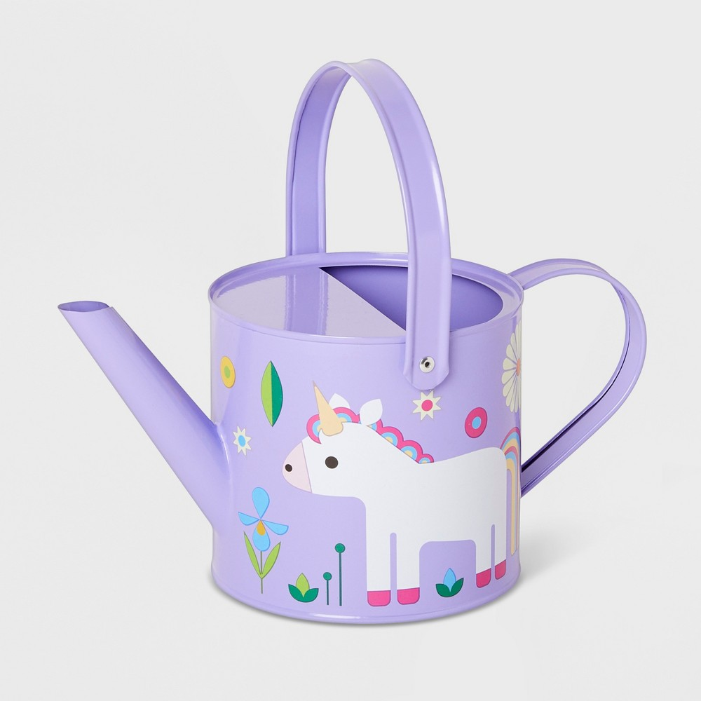 Image of Unicorn Watering Can Purple - Kid Made Modern