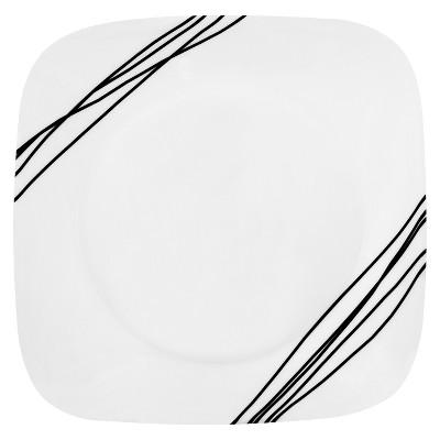 """Corelle Sketch Salad Plate 9""""x9"""""""