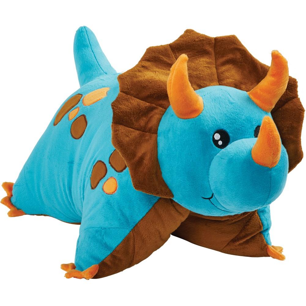 Blue Dinosaur Pillow Pet, Decorative Pillow