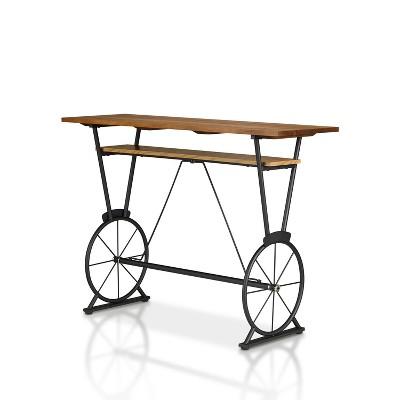 Torum Counter Height Bar Table Oak - HOMES: Inside + Out