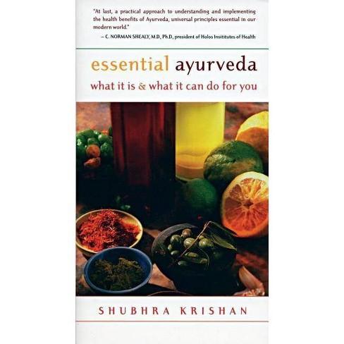 Essential Ayurveda - by  Shubhra Krishan (Paperback) - image 1 of 1