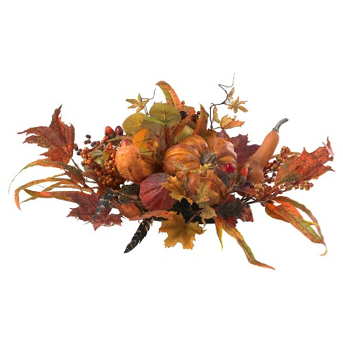 Harvest Centerpiece - Nearly Natural - image 1 of 3
