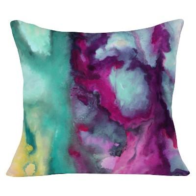 "Purple Jacqueline Maldonado Armor Throw Pillow (20""x20"") - Deny Designs"