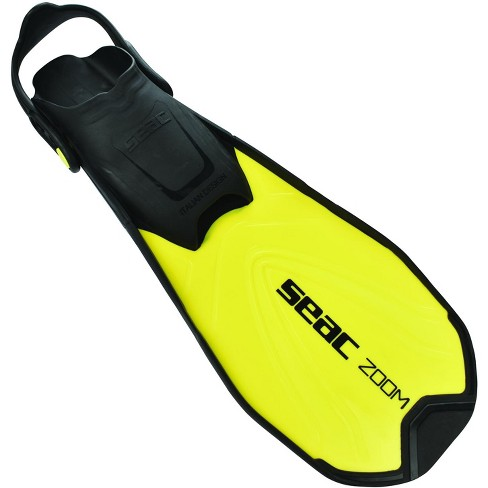 Seac Zoom Adult and Children Short Fins for Swimming /& Snorkeling