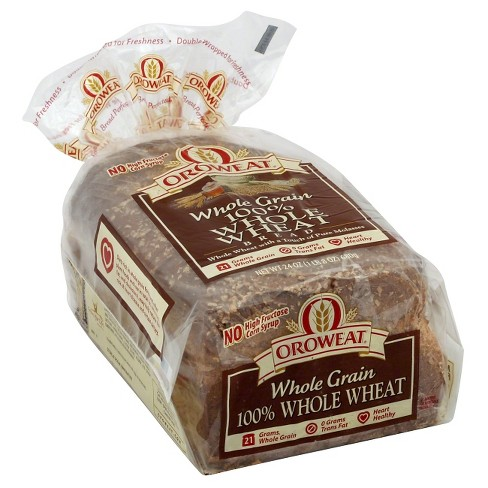 Oroweat 100% Whole Wheat Bread - 24oz - image 1 of 1