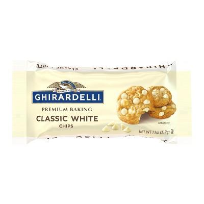 Ghirardelli White Premium Baking Chips - 11oz