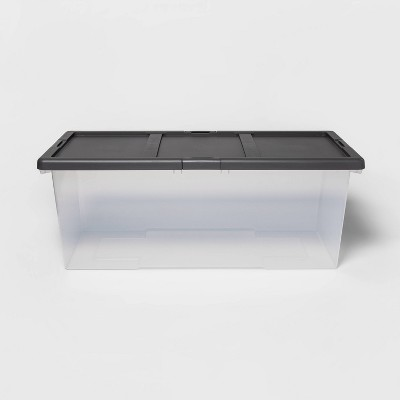 Extra Large Clear Latching Storage Bin - Made By Design™