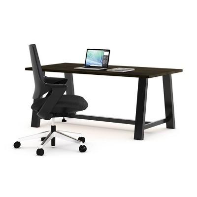 Mia Office Desk Set Wood Chair - Olio Designs