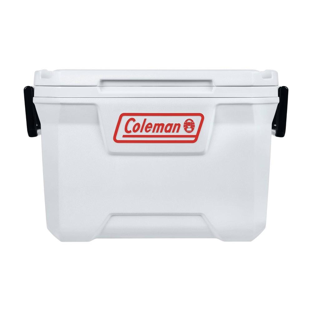 Coleman 52 Quart Marine Hard Ice Chest Cooler White