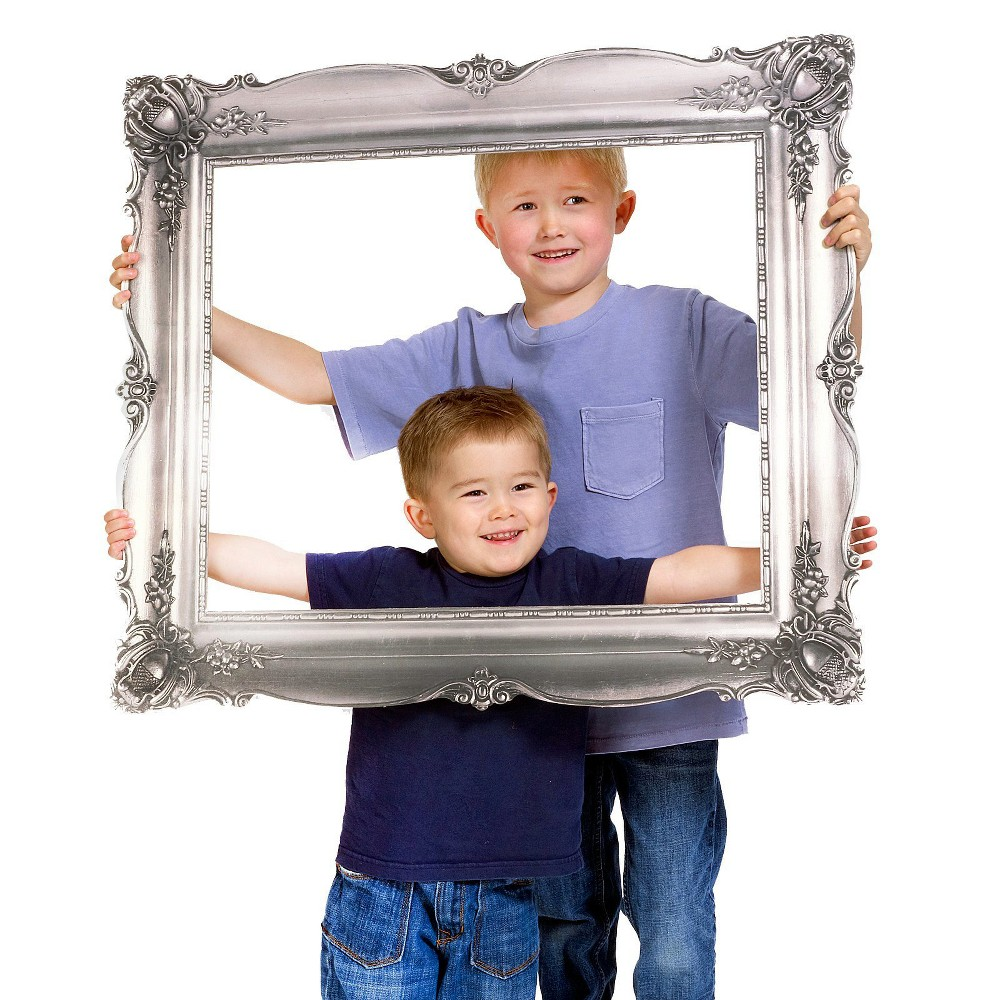 Image of Antique Frames Party Standee, Silver