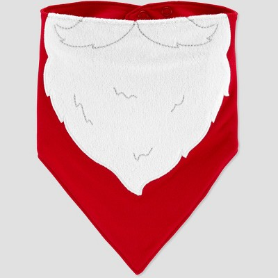 Baby's Santa Beard Bib - Just One You® made by carter's Red