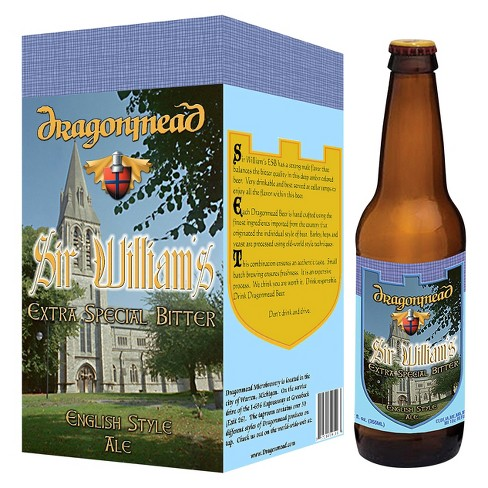 Dragonmead® Sir William's Extra Special Bitter - 4pk / 12oz Bottles - image 1 of 1