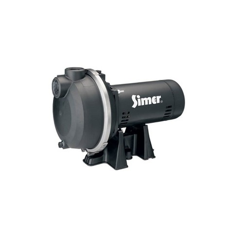 Simer 3420P 2 Horsepower Submersible In Ground Yard Sprinkler System Water Pump - image 1 of 1