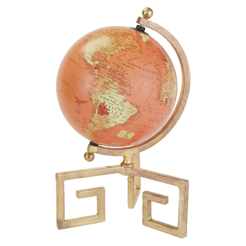 Globe - Gold/Orange - Go Home, Bright Gold