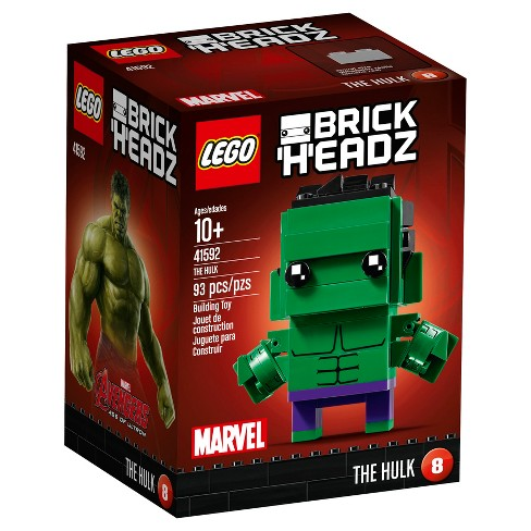 LEGO® BrickHeadz Marvel The Hulk 41592 - image 1 of 6