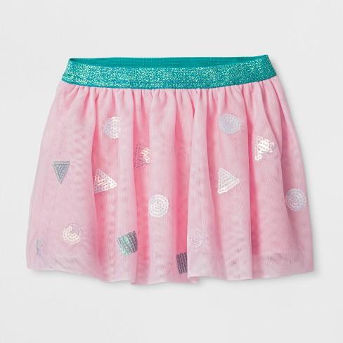8738fa7f4a Toddler Girls' Sequin Tutu Skirt - Cat & Jack™ Pink : Target