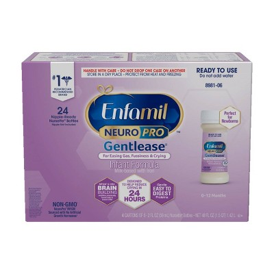 Enfamil NeuroPro Gentlease Infant Formula with Iron - 24ct/2 fl oz Each