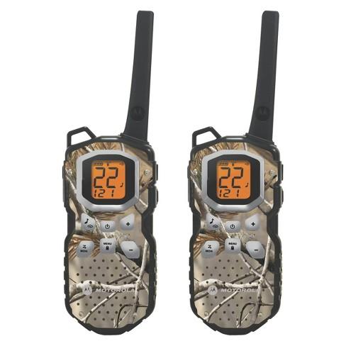 Motorola Talkabout FRS/GMRS 2 Way Radio 35 Mile Range - Brown (MS355R)