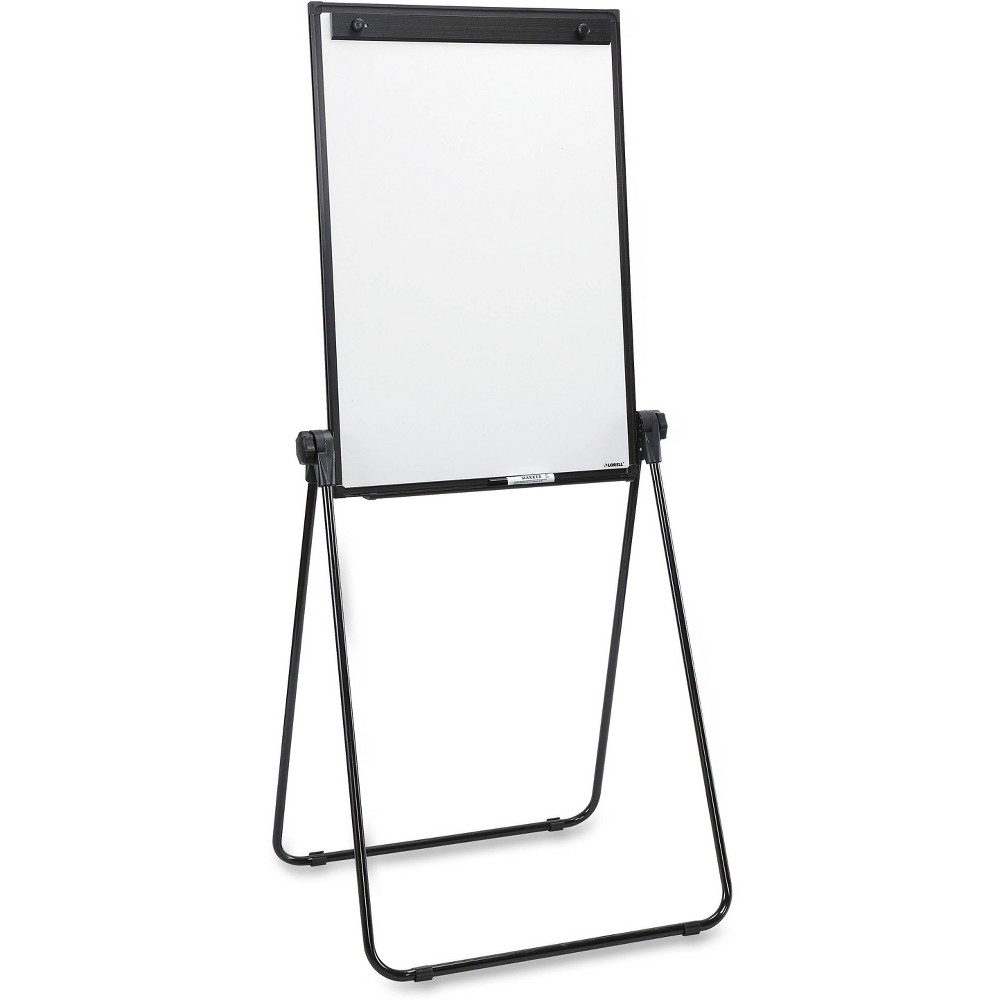 Image of Lorell 2-sided Dry Erase Easel, Black