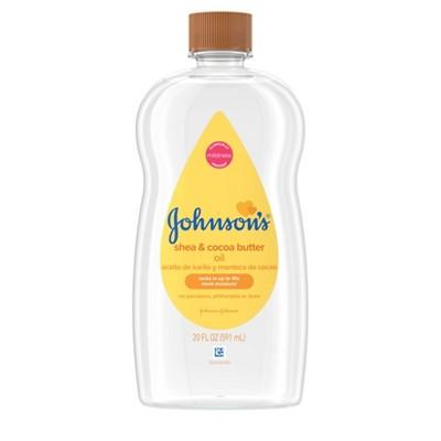 Johnson's Baby Shea and Cocoa Butter Body Oil - 20 fl oz