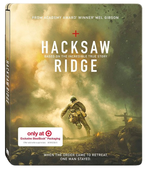 Hacksaw Ridge - Target Steelbook Exclusive (Blu-ray + DVD) - image 1 of 1