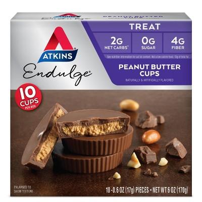Atkins Endulge Treats - Peanut Butter Cup - 10pk