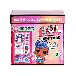 L.O.L. Surprise! Furniture Backstage with Independent Queen & 10+ Surprises