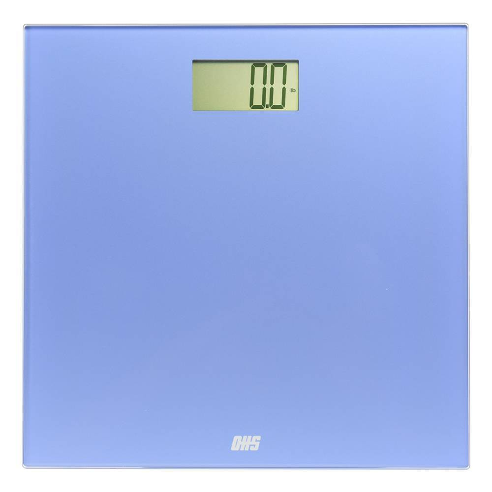 Image of Essence Digital Bathroom Scale Blue - Optima Home Scales