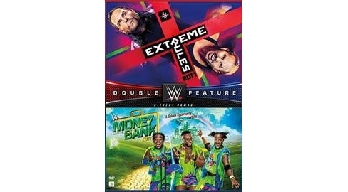 Wwe:Extreme Rules/Money In The Bank 2 (DVD) - image 1 of 1