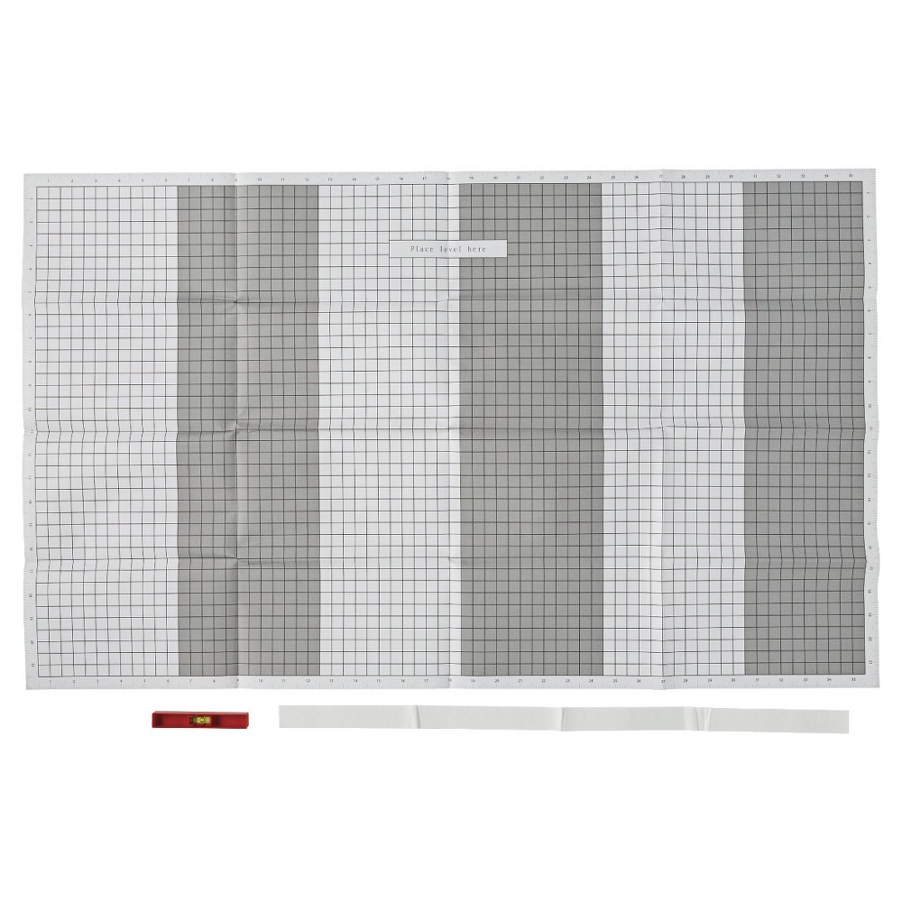 Arrow Grid Paper Template with Level