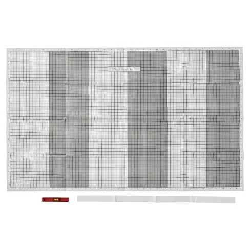 Arrow Grid Paper Template with Level : Target