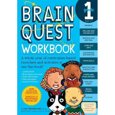 Brain Quest Workbook Grade 1 by Lisa Trumbauer