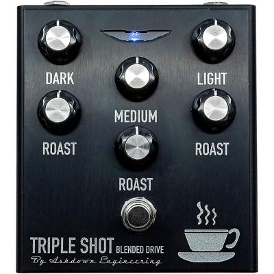 Ashdown Triple Shot Tri Band Blendable Bass Effects Pedal Black