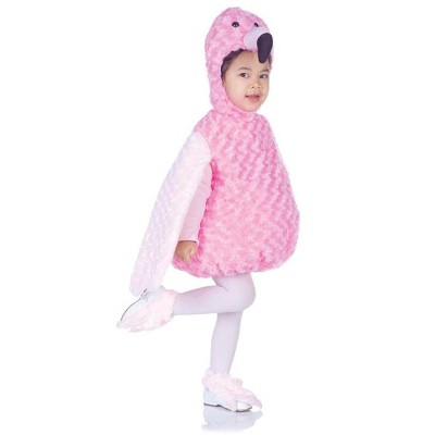 Underwraps Costumes Belly Babies Pink Flamingo Costume Child Toddler