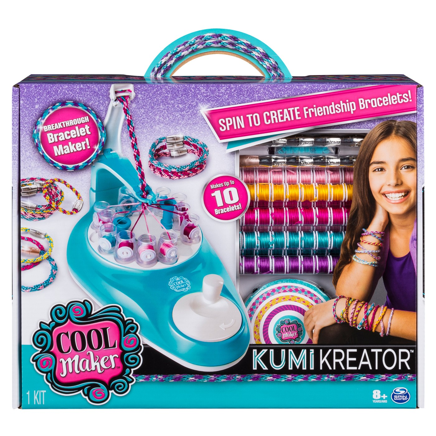 Cool Maker KumiKreator Friendship Bracelet Maker Activity Kit - image 1 of 7