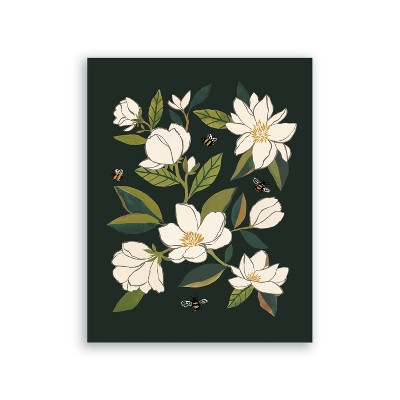Clementine Kids Magnolia and Bumble Bees Art