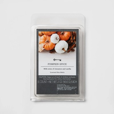 6ct Pumpkin Spice Scented Wax Melts - Threshold™