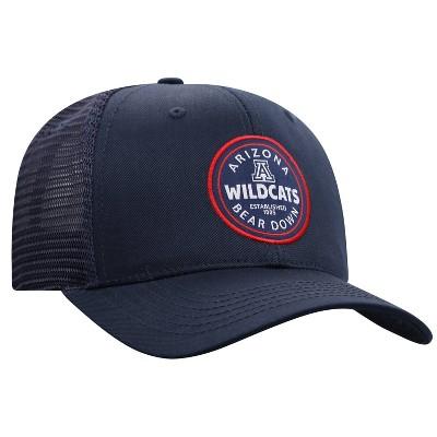 NCAA Arizona Wildcats Men's Black Twill with Hard Mesh Back Hat