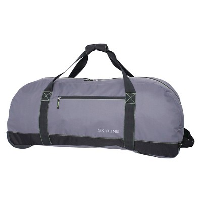 "Skyline 36"" Rolling Duffel Bag - Gray"