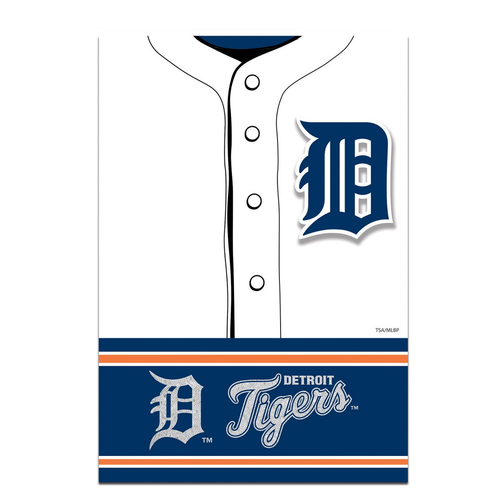 Detroit Tigers Two-Sided Jersey House Flag