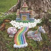 MindWare Paint Your Own Stone Gardens: Set Of 2 - Creative Activities - image 3 of 4