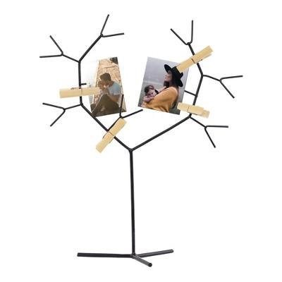 Decorative Photo Clip Tree - Gold