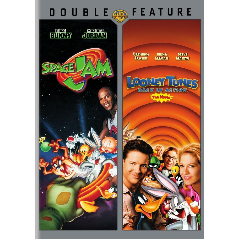 Space Jam/Looney Tunes Back In Action (Dvd)