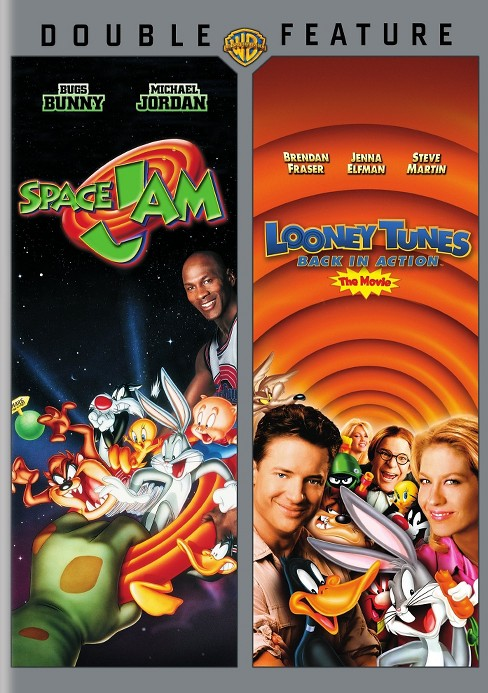 Space jam/Looney tunes back in action (DVD) - image 1 of 1