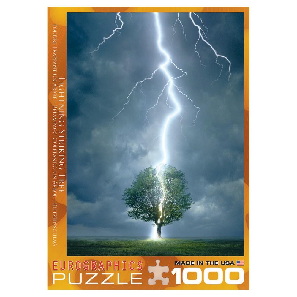 Lighting Striking Tree 1000pc Puzzle