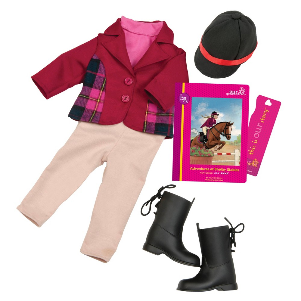 Our Generation Read & Play Set - Lily Anna Book & Outfit