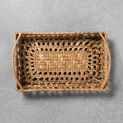 Woven Rectangle Serve Tray - Hearth & Hand™ with Magnolia - image 1 of 3