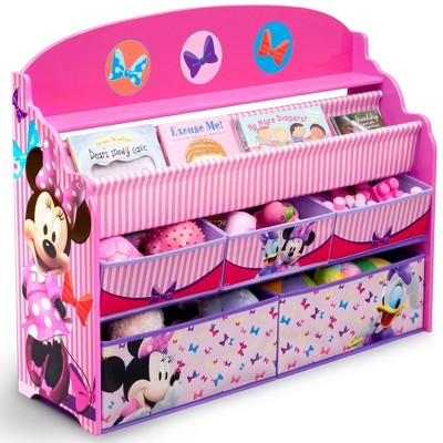 Disney Minnie Mouse Deluxe Boy & Toy Organizer - Delta Children