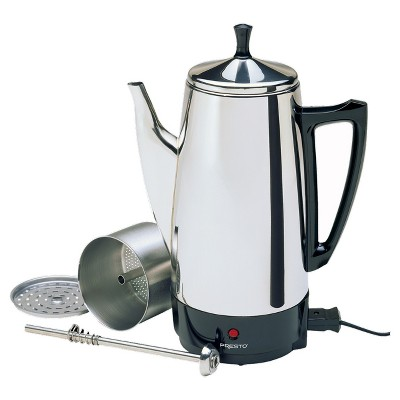 Presto® Coffee Maker - Stainless Steel 02811