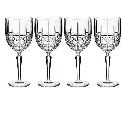 Marquis by Waterford Brady Crystal Wine Glass 11oz - Set of 4